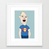 goonies Framed Art Prints featuring The Goonies by Elena Éper