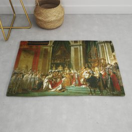 Jacques-Louis David's Consecration of Emperor Napoleon I Rug
