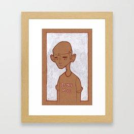 Zombie Mode Framed Art Print