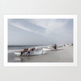 Beach Patrol, Jersey Shore Art Print