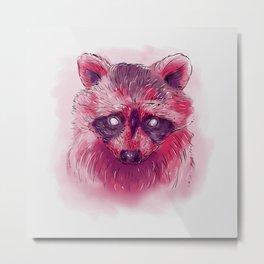 Raccoon I Metal Print