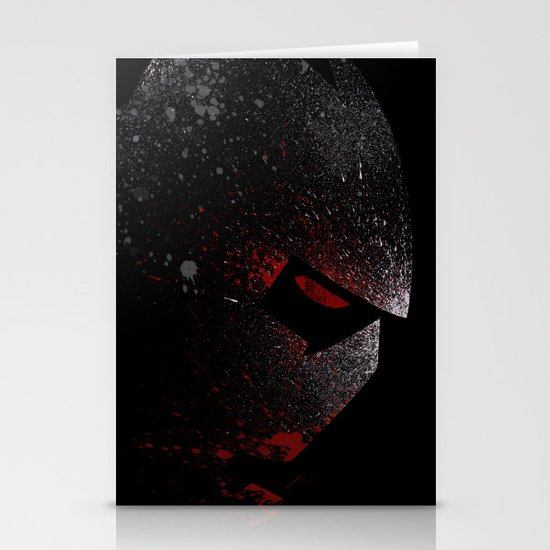Foot Clan Master Stationery Cards