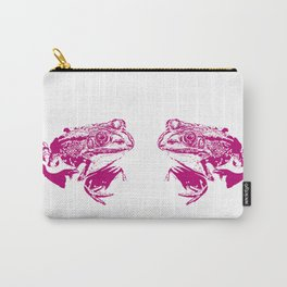 pink frog IV Carry-All Pouch