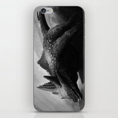 Eyeless lizard iPhone & iPod Skin