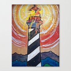Lighthouse Funk 1 Canvas Print