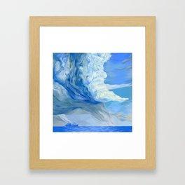 """Clouds #1"" Framed Art Print"