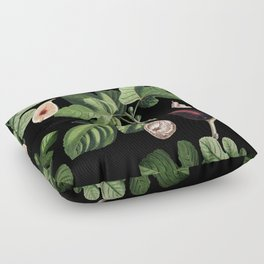 Figs Black Floor Pillow