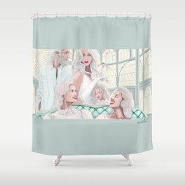 "#36 ""Gulliver y los gigantes""  Shower Curtain"