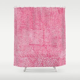 Red Ink I Shower Curtain
