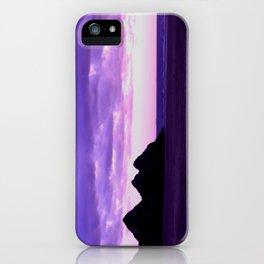 Three Cliffs Bay iPhone Case