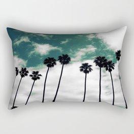 Palms in the sky Rectangular Pillow