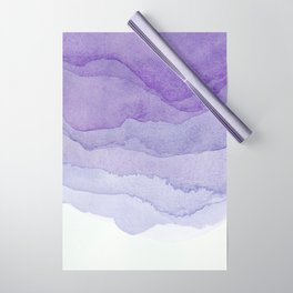 Lavender Flow Wrapping Paper