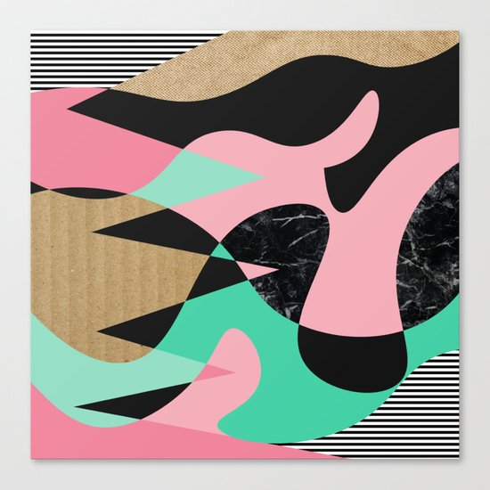 Shapes_Textures_Stripes Canvas Print