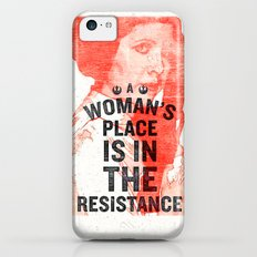 LEIA RESISTANCE Slim Case iPhone 5c