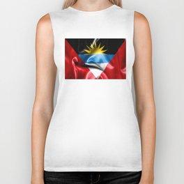 Antigua and Barbuda Flag Biker Tank