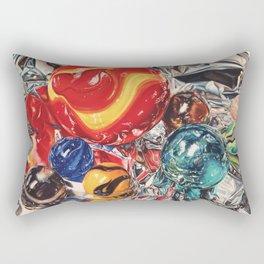 Red Giant Rectangular Pillow