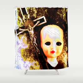 Apocalypse Museum Shower Curtain