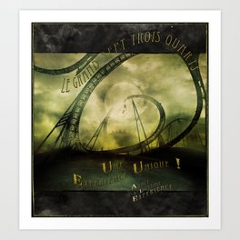 Le Grand Sept-trois-quarts Art Print