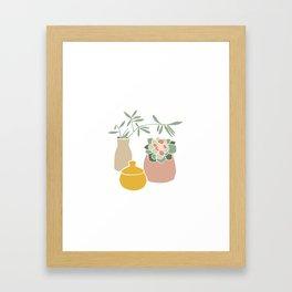 Still life. Framed Art Print