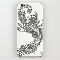 paisley iPhone & iPod Skins featuring Paisley by Bethany Pease