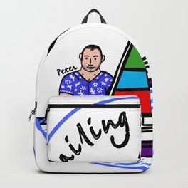 Beard Boy: Sailing Bohemia Backpack
