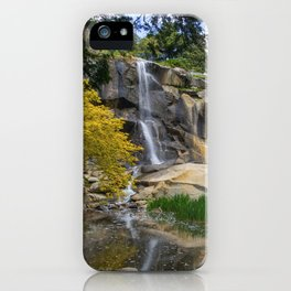 Waterfall at Maymont Park iPhone Case
