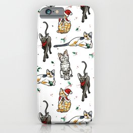 Meowy Christmas I iPhone Case