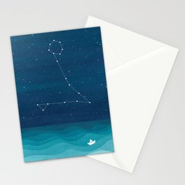 Pisces zodiac constellation Stationery Cards
