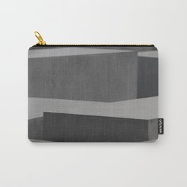 Berlin Memorial Grey Blocks Stone Carry-All Pouch