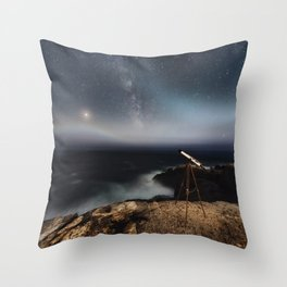 Before The Fog Throw Pillow