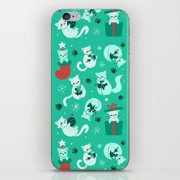 Merry Catmas iPhone Skin