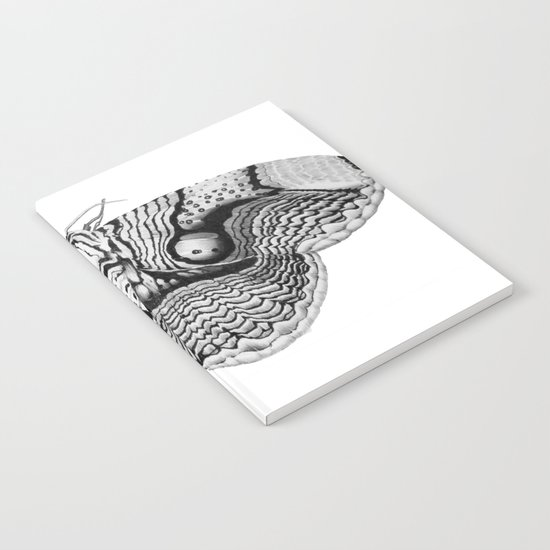 Brahmin Moth Notebook