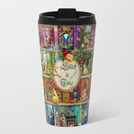 A Stitch In Time Travel Mug