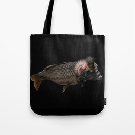 The Swamp Fish Witch Tote Bag