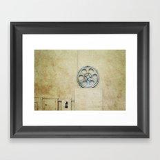 the palace. Framed Art Print