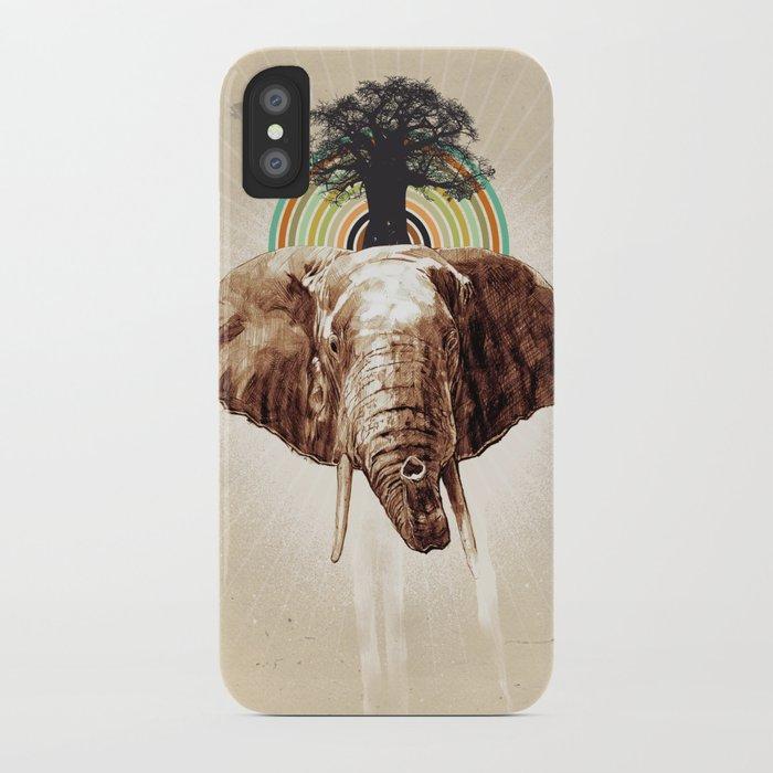 "Glue Network Print Series ""Environment & Animals"" iPhone Case"