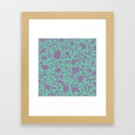 Synapses Framed Art Print