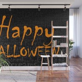 Happy Halloween 2 Wall Mural