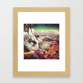Passing Along  Framed Art Print