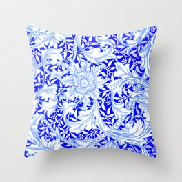 "William Morris ""Single stem"" 2. Throw Pillow"