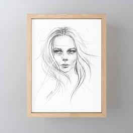 Fade away Framed Mini Art Print