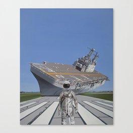 The Runway Canvas Print