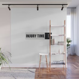 Injury time Wall Mural