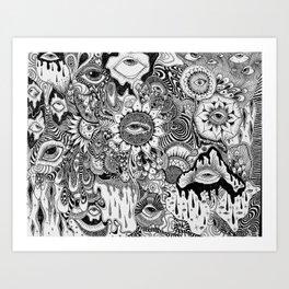 Slowdive Art Print