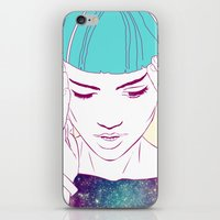 grimes iPhone & iPod Skins featuring GRIMES by Nuk_