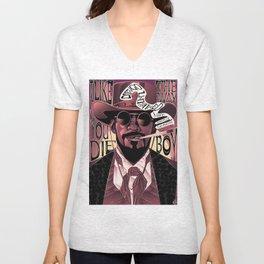 Django Poster Unisex V-Neck
