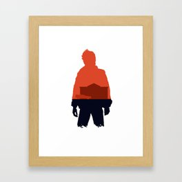 Marty! Framed Art Print