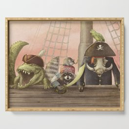 Pirates! Serving Tray