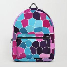 random irregular small polygons Backpack