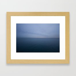 Thursday Night Solice Framed Art Print